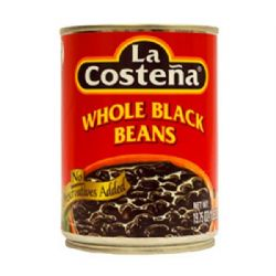 Mexican Black Beans in Sauce | Frijoles Negros Enteros | Buy Online | UK